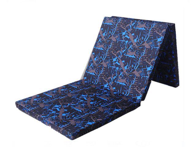 three folded Gymnastics mat