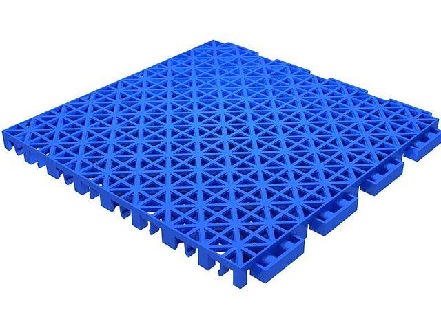 Double Layer Square Lattice Flooring