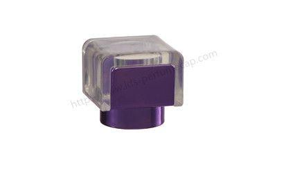 Silver golden plastic perfume lid
