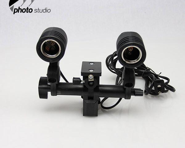 Premium Double Head AC Light Socket YL102