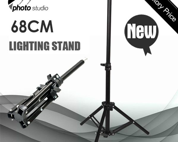 """68cm 27"""" Tall Studio Quality High Output Accent Light Table Top Light Stand YS068"""