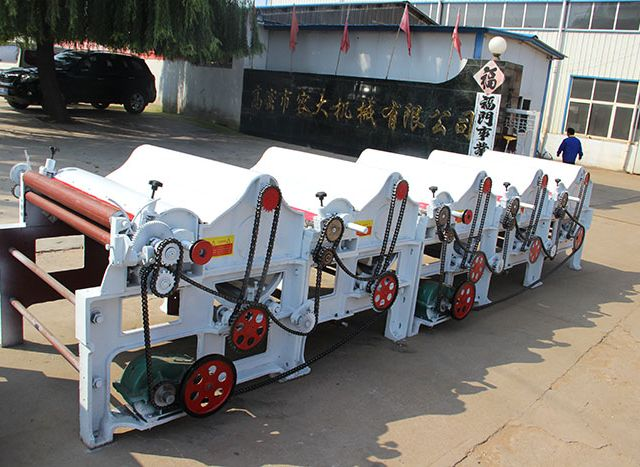 Textile Waste Cleaning Machine