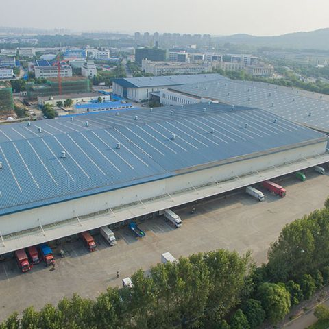 Large Logistics And Distribution Cold Storage
