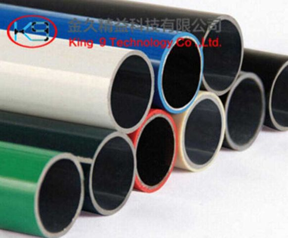 Lean Coated Tube for Lean Rack Systems