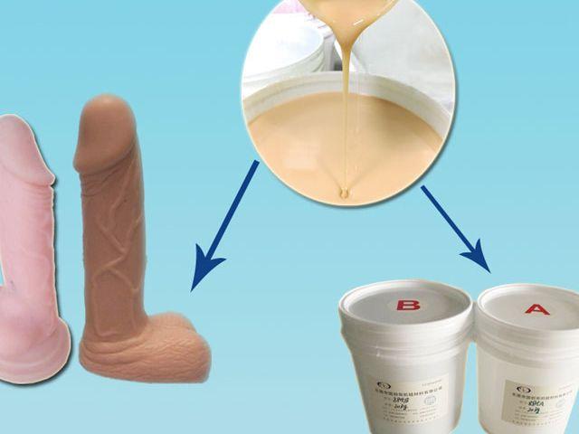 Soft skin safe liquid silicone rubber for sex dolls