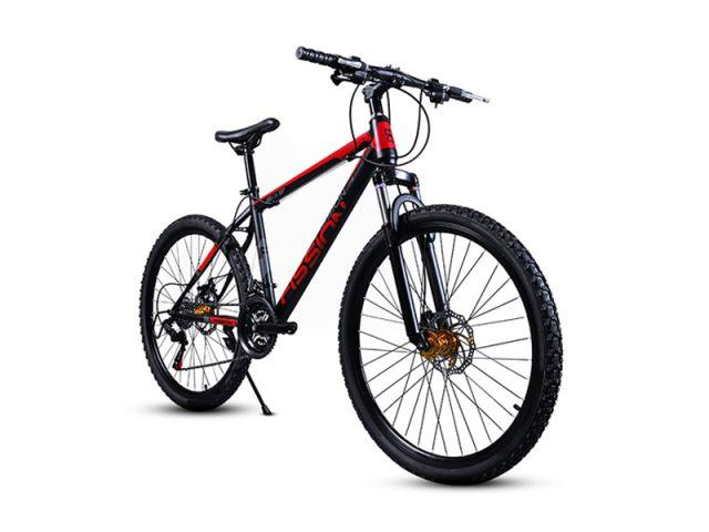 Adult-variable-speed-high-carbon-steel-frame-disk-brake-mountain-bike-bicycle