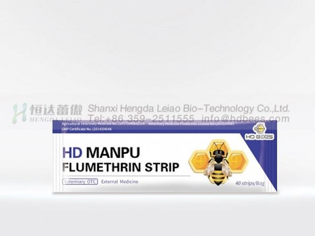 HD Flumethrin Manpu (40 Strips)