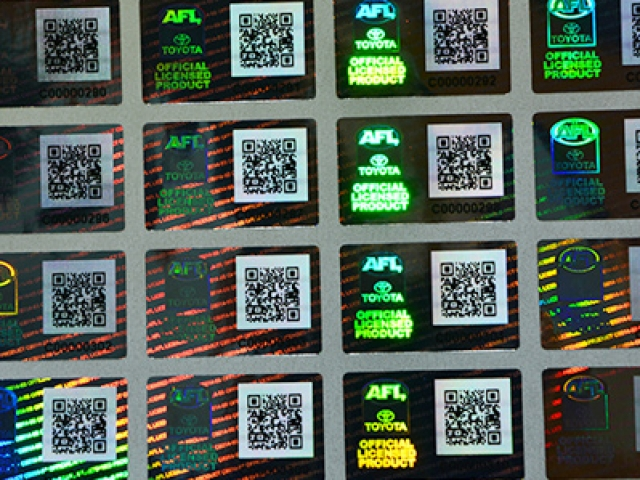 Special Technology Hologram Sticker