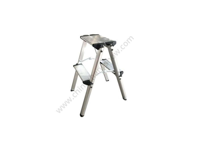 Double Side Aluminum Step Ladder Stool