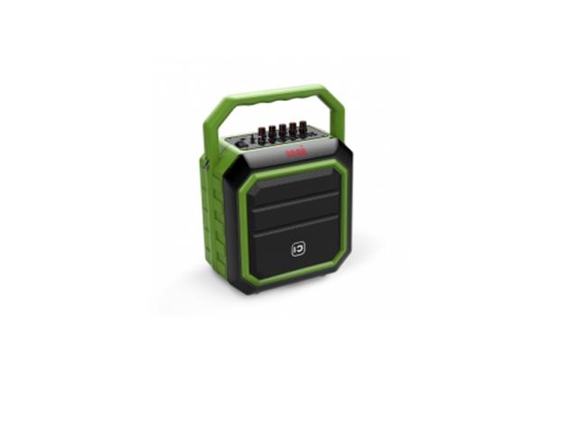 New product 30w Karaoke Bluetooth Speaker with FM Radio and Flashing DJ Lights
