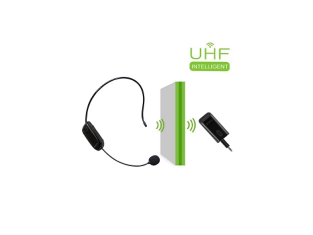 U8 Wireless UHF Headset Microphone Receiver Set for Amplifier or Speakers
