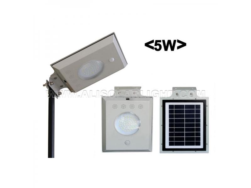 5W All In One Solar Street Light