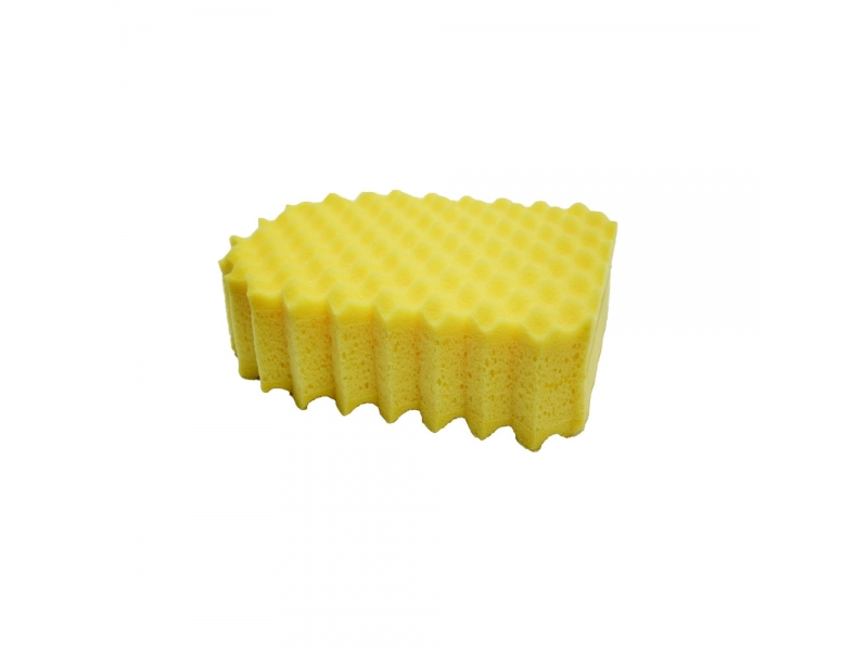 Microfiber Duel Scrubber with Built in Hand-Strap Scratch Free Clean