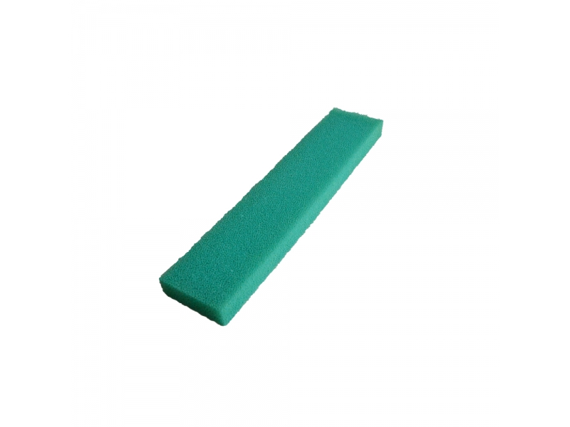 Rainbow colors anti-aging silicone Coated filter foam