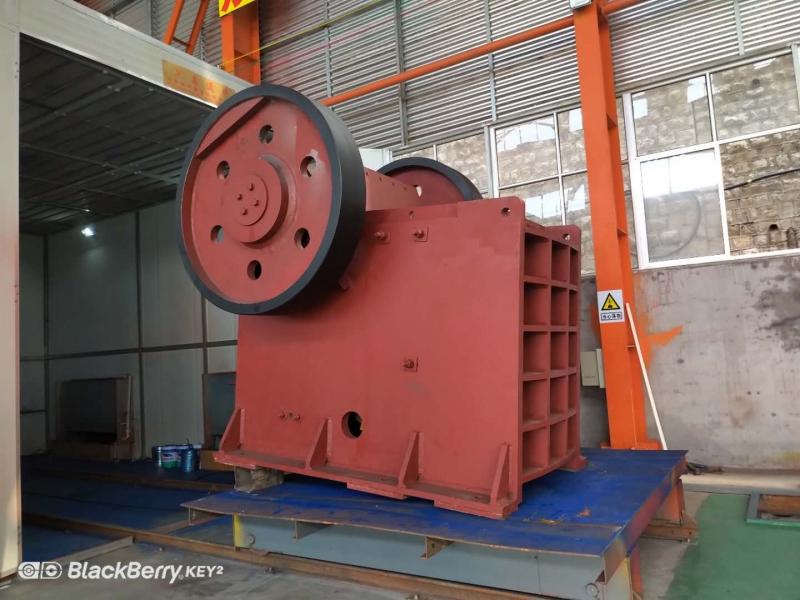 Weld stone crusher  PE600*900