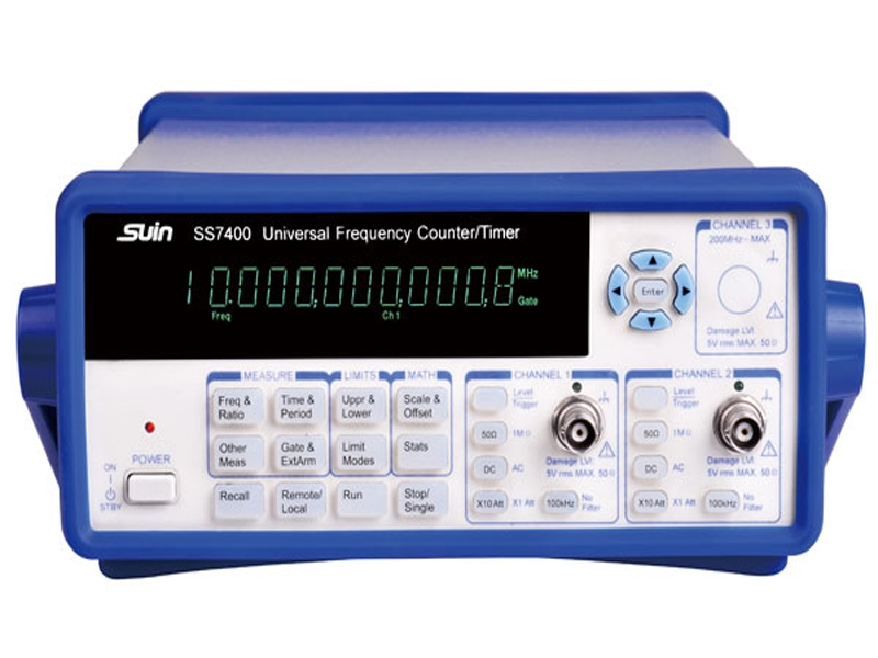 Universal Frequency Counter/Timer/Analyzer SS7200/7300/7400/7402