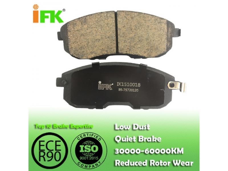 4106040U90/GDB1003/GDB3390/D815/D430/D526/D653 Semi-metallic/Low-metallic/NAO/Ceramic Disc brake p