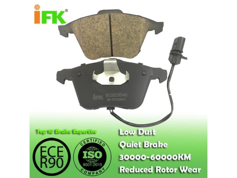 4E0698151F/GDB1617/GDB1659/GDB1554/D1111 Semi-metallic/Low-metallic/NAO/Ceramic Disc brake p