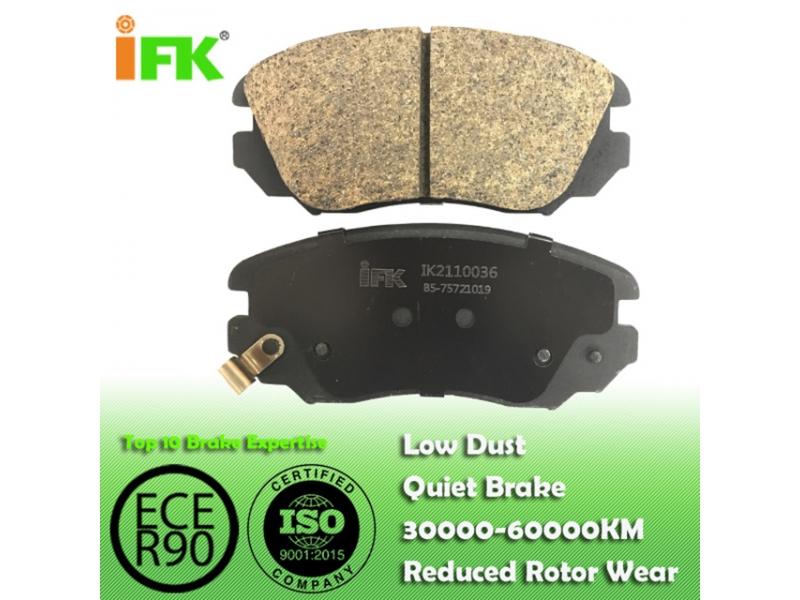 13237750/GDB1782/D1421/D1559 Semi-metallic/Low-metallic/NAO/Ceramic Disc brake p