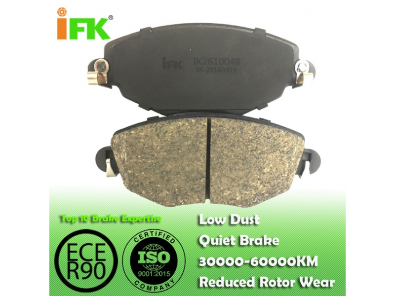 1121894/GDB1434/D910 Semi-metallic/Low-metallic/NAO/Ceramic Disc brake p