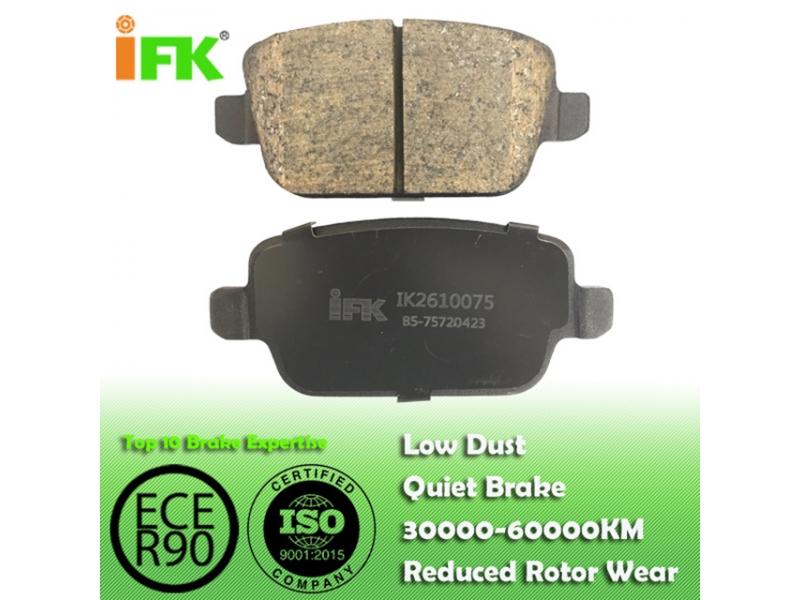 1477803/GDB1732/GDB1708/GDB1709/D1314 Semi-metallic/Low-metallic/NAO/Ceramic Disc brake p