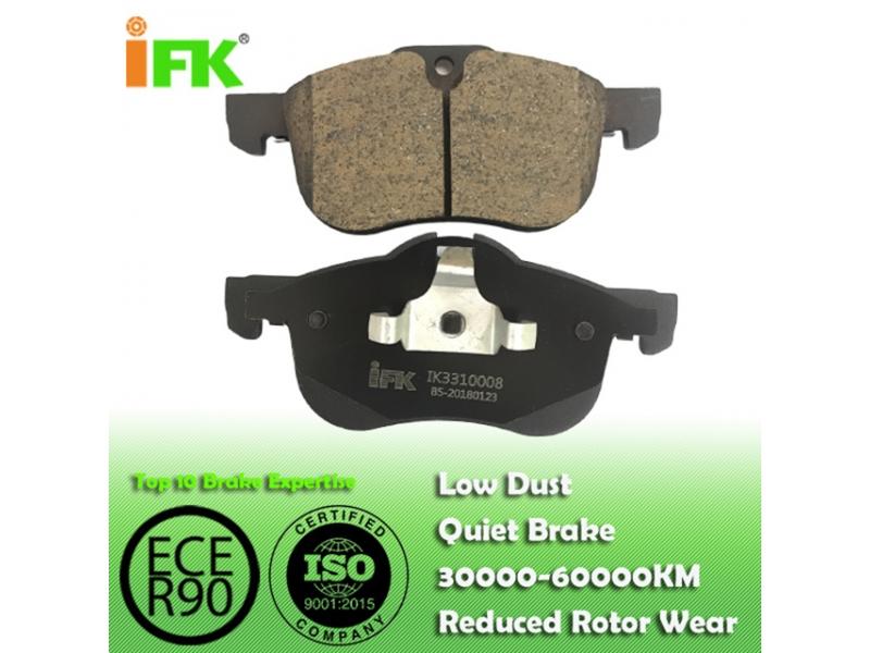 SFP100511/GDB1374/D1462 Semi-metallic/Low-metallic/NAO/Ceramic Disc brake pad manufactu