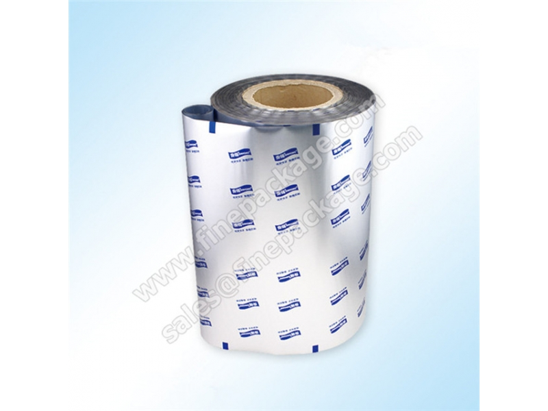 High barrier silver food grade aluminium foil plastic film