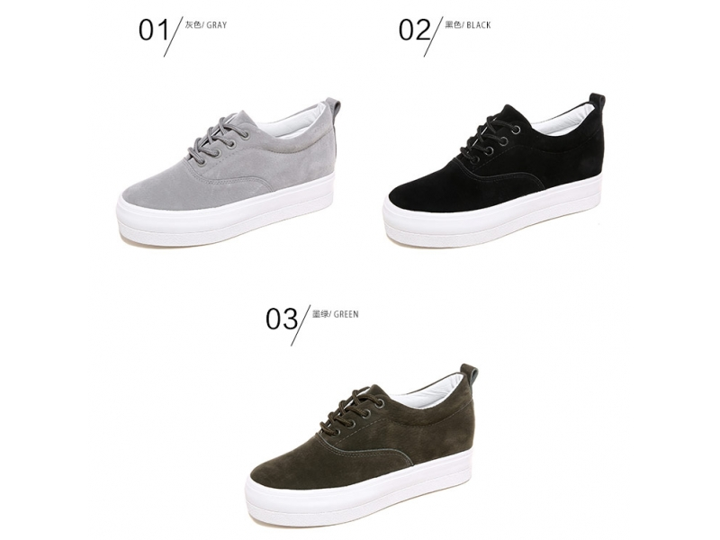 2018 High quality men women cow suede leather casual shoes and sneaker men  comfortable fashion skat