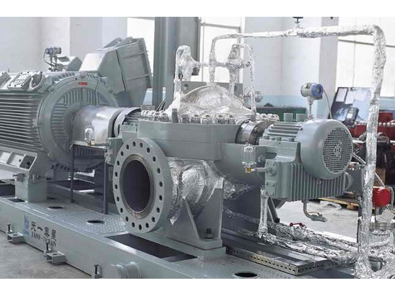 API610 BB1 single-stage double suction split case centrifugal pump